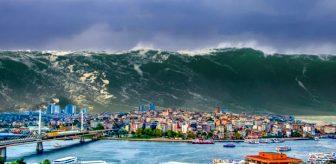 İstanbul'un 'Küçük Kıyameti'! İnsanlar dev yarıklardan düşerek kayboldu, 6 metrelik dalgalar şehri yuttu