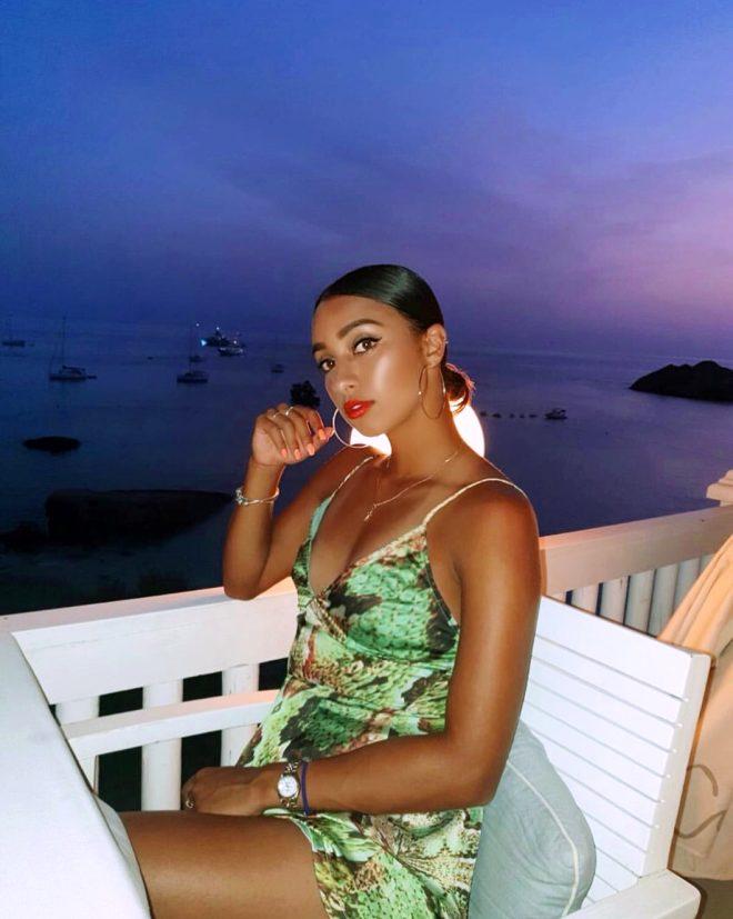 Hoş tenisçi Eden Silva, ateşli paylaşımlarıyla modellik ajanslarını peşine taktı