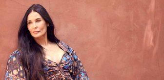 Ünlü oyuncu Demi Moore'dan bomba etkisi yaratacak proje! Cinsel ilişki dersleri verecek