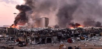 Beyrut'u kana bulayan patlama 300 bin insanı evsiz bıraktı