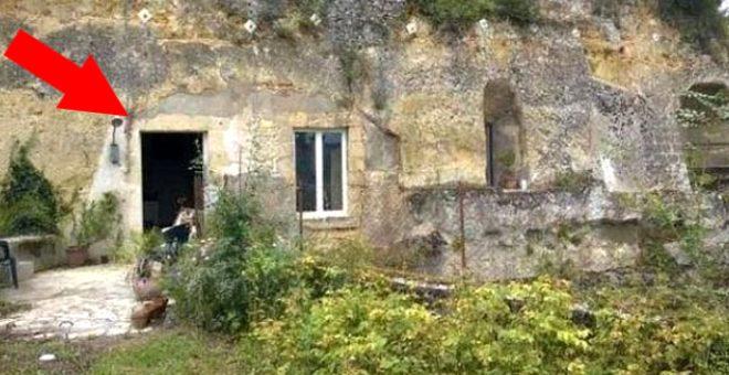 Genç çift, 1 euroya aldıkları mağara evi 12 ay içinde saraya dönüştürdü