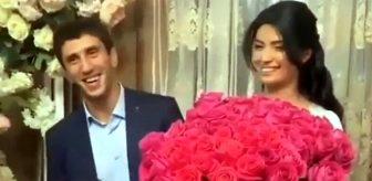 Evleneceği kadının düğün günü eskort olduğunu öğrenen Rus güreşçi Zaurbek Sidakov, nişanlısının saçını başını yoldu