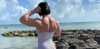 200 kilo kaldırabiliyor! Canavar lakaplı kadın sporcuyu görenler gözlerine inanamıyor