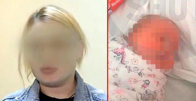 25 yaşındaki anne ayakkabı alabilmek için bir haftalık bebeğini satarken yakalandı