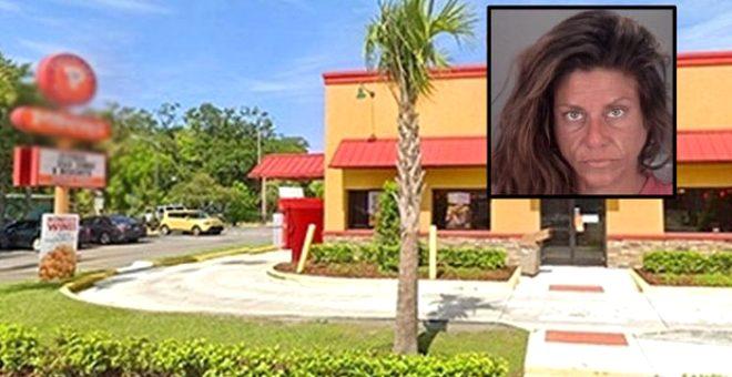 Önce market şimdi de tavuk dükkanı! Polis, o kadını yine mastürbasyon yaparken yakaladı