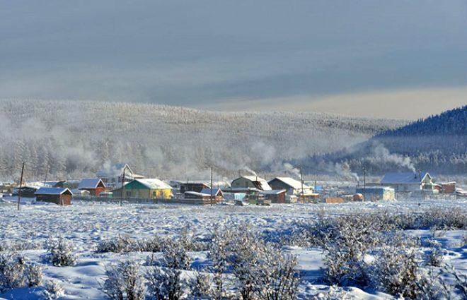 Dünyanın en soğuk köyü! Nefesinizin bile buz tuttuğu yerde rekor kırıldı