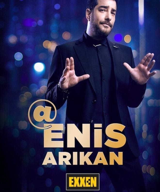 @EnisArıkan ilk konuğu ise Edis!