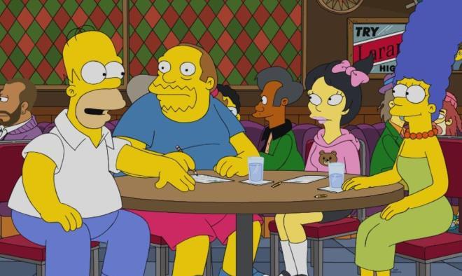 Adı kahine çıkan Simpsonlar yine bildi! Miğferli gösterici kehanetin en büyük kanıtı