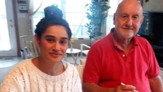 80'lik kocası tarafından evden atıldığı konuşulan Meltem Miraloğlu ortaya çıktı! Babasını kaybetmiş