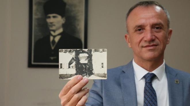 Duygulanmamak elde değil! Atatürk'ün daha önce hiç görülmemiş fotoğrafı tam 91 yıl sonra ortaya çıktı