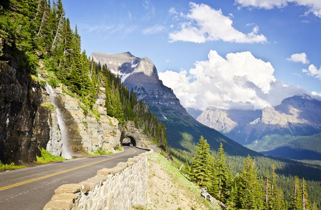 Going-to-the-Sun-Yolu, Glacier Ulusal Parkı, Montana
