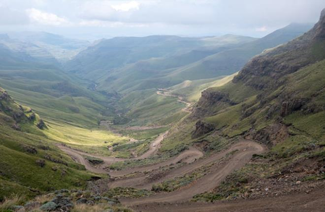 Sani Pass, KwaZulu-Natal, Güney Afrika