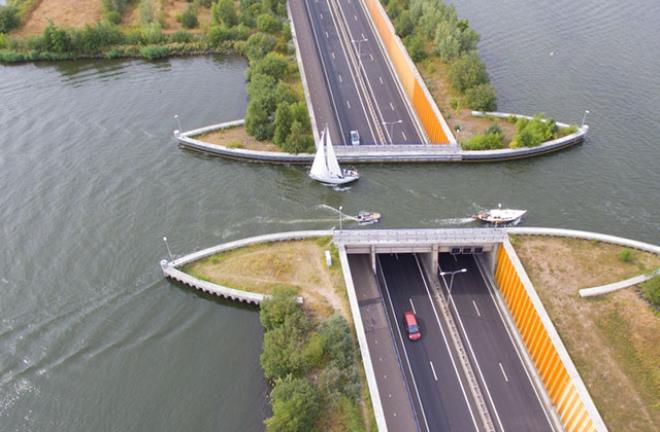 Veluwemeer Su Kemeri, Hollanda