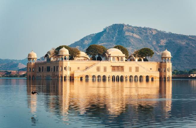 Jal Mahal, Jaipur, Hindistan