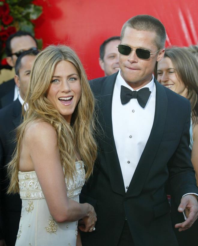 Brad Pitt ve Jennifer Aniston