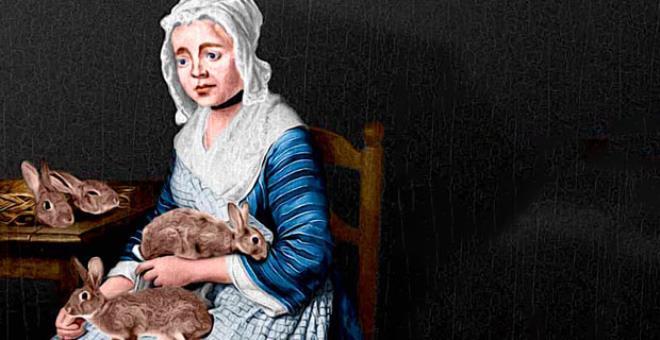 Rahmine ölü tavşan sokup 'Doğuruyorum' diyerek bilim adamlarını dahi yanıltan kadın: Mary Toft