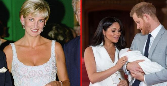 Lilibet'in doğumu ile Prenses Diana arasındaki ürkütücü tesadüf! Kraliyet hayranları korku içinde