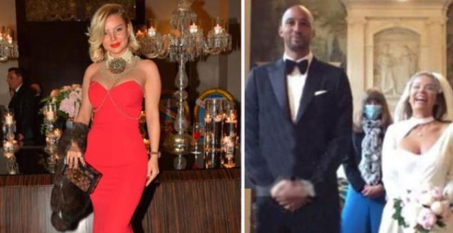 Sosyetik güzel Seda Parseker, Galatasaray'ın eski yıldızı Steven Nzonzi ile evlendi