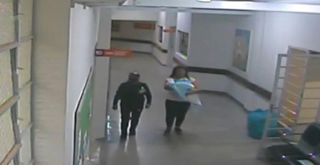 Hemşire kılığında bebek çalmaya kalkıştı! Atladığı bir detay ise başını yaktı