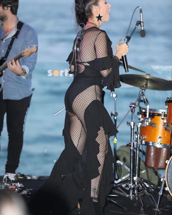 Transparan kıyafetiyle tepki çeken Hande'den hodri meydan: Daha açık giyineceğim