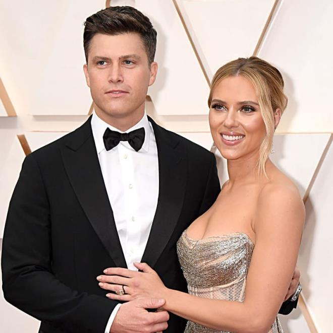 Colin Jost ile evli olan Scarlett Johansson ikinci bebeğini dünyaya getirdi