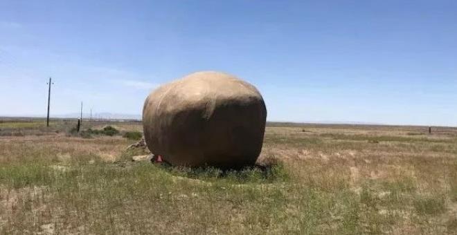 Dışardan patates gibi görünüyor! Ancak içi bambaşka bir dünya