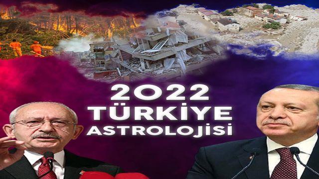 2022 Türkiye astroloji 2022 Türkiye kehanetleri