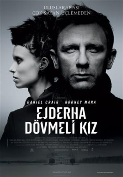 Sosyal ağ the girl with the dragon tattoo ejderha dövmeli kız