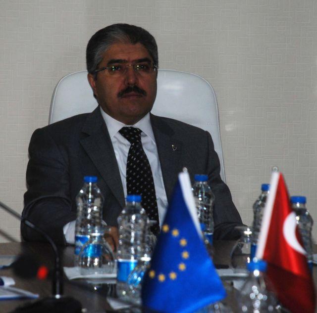 Vali Çınar'dan Tkdk'ya Ziyaret