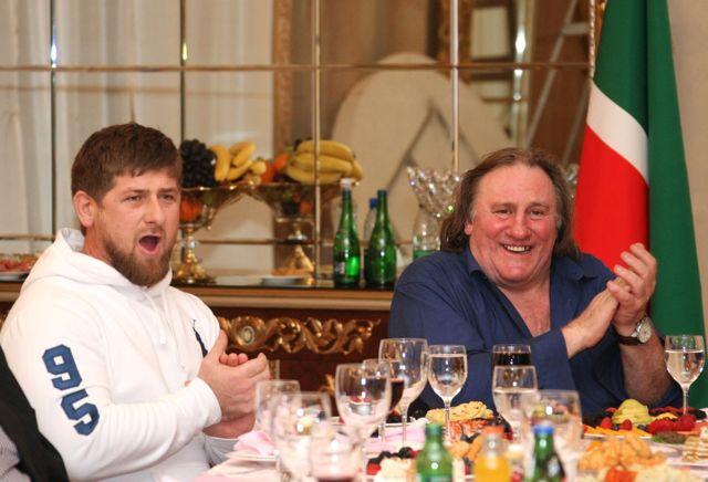 Depardieu artık Çeçenistanlı!