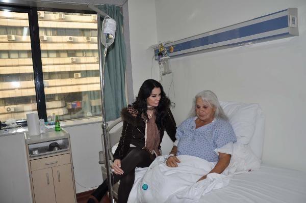 Nigar Uluerer Hastaneye Kaldırıldı