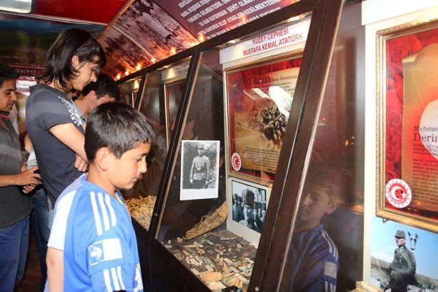 Çanakkale Gezici Müzesi Talas'ta