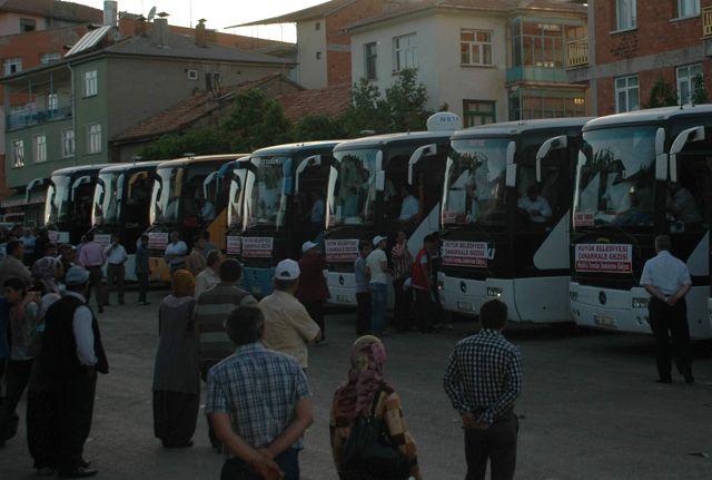 Hüyüklü Öğrenciler Çanakkale Gezisine Gitti