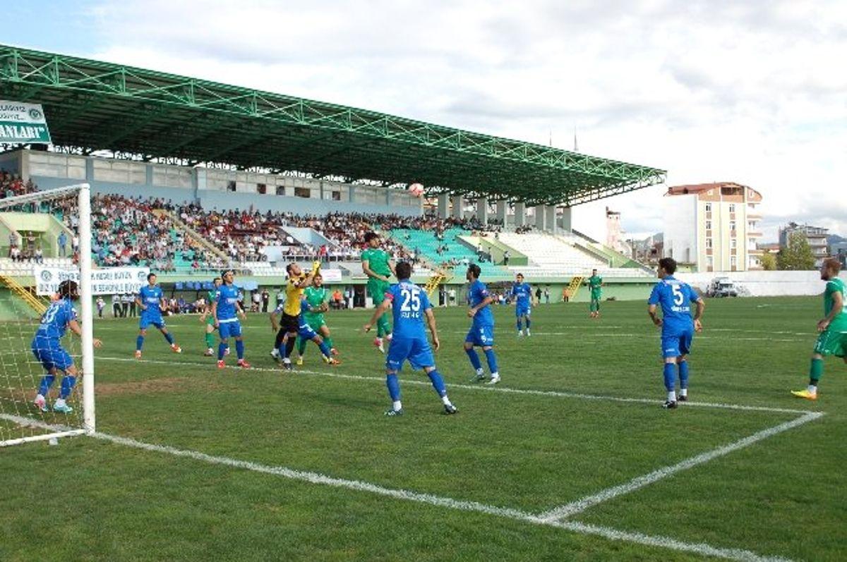 Ünyespor - Erzurum Büyükşehir Belediyespor: 1-0