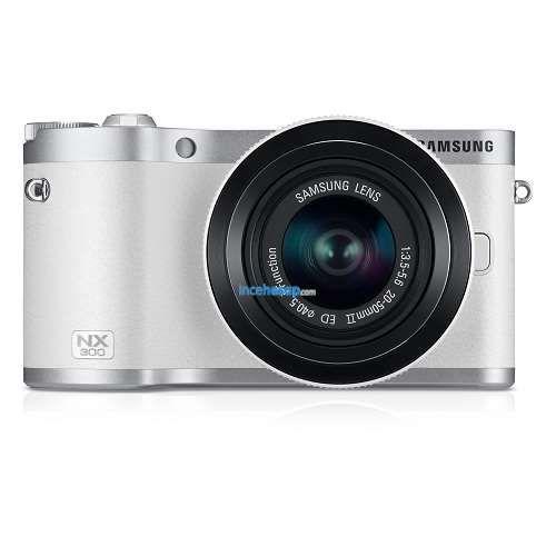 Samsung Nx300 18 55mm Lens Slr Fotograf Makinesi Wi Fi Beyaz