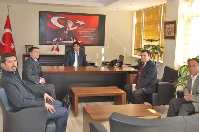 İha'dan Selendi Kaymakamı ve Belediye Başkanına Ziyaret