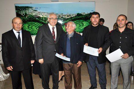 Rize'de KETEM'e Destek Verenlere Teşekkür Belgesi Verildi