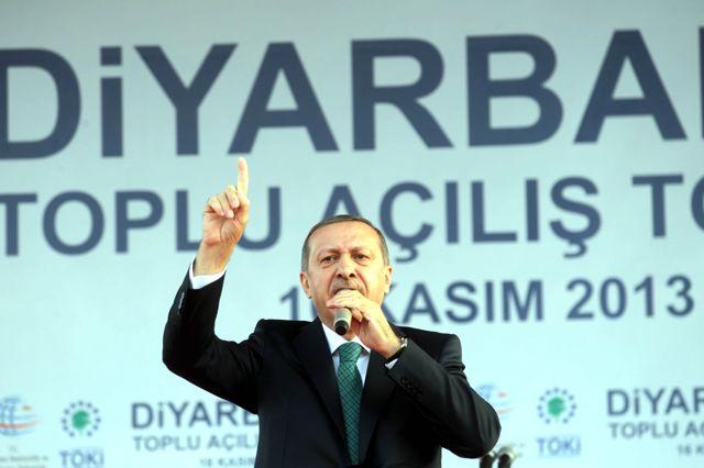 Başbakan Erdoğan: Diyarbakır Huzurlu Olursa Erbil Daha Huzurlu Olur