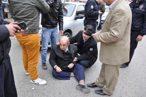 Besni'de Otomobilin Çarptığı Yaya Yaralandı