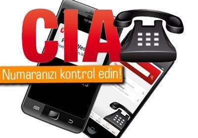 CIA 'İn Elindeki Telefon Numaraları Web'e Düştü