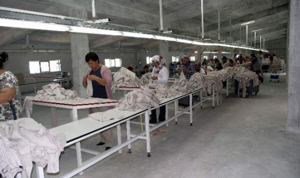 Kavak'ta Tekstil Fabrikasında Çalışacak İşçilere Seminer