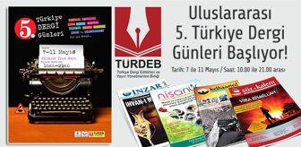 Sirkeci Garı: 5. Türkiye Dergi Günleri Başladı