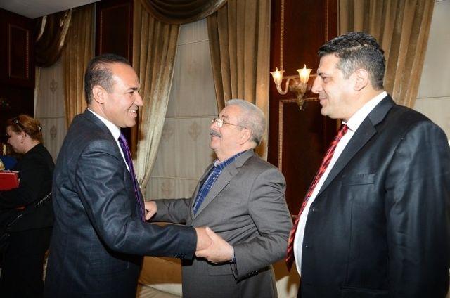 Mustafa Mit, Hüseyin Sözlü'yü Ziyaret Etti