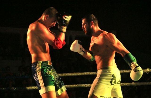 Milas'ta Uluslararası Muay Thai Şampiyonası Düzenlendi