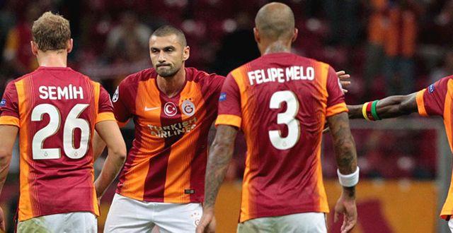 İtalyan Basını: Galatasaray'ı, Burak'ın Son Dakika Golü Kurtardı