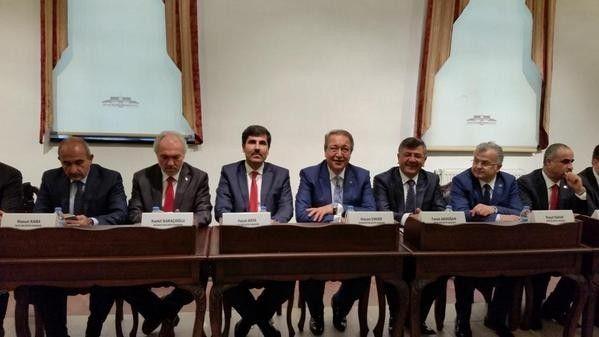 Başkan Asya, Belediye Başkanları Toplantısına Katıldı