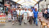 CHP'lilerden Esnaf Odası Başkanına Protesto