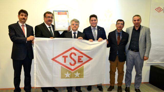 Yurtbay Seramik, TSE Çift Yıldız Belgesi'ni Almaya Hak Kazandı