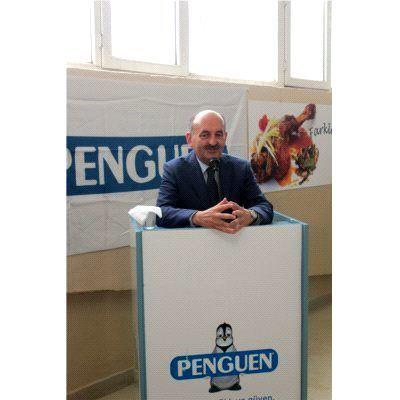 Sağlık Bakanı Mehmet Müezzinoğlu, Öğle Yemeğinde 'Penguen Gıda' Çalışanları ile Buluştu