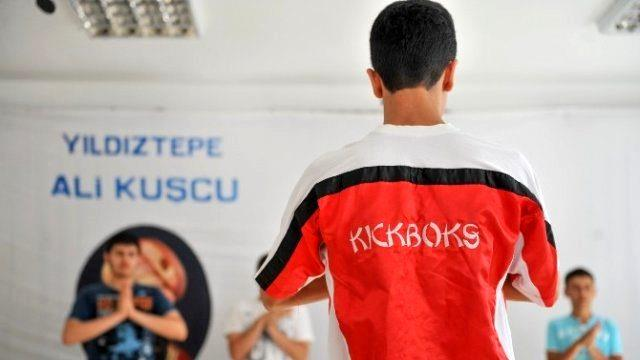 Altındağ'da Kick Boksa Yoğun İlgi